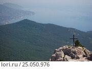 Вершина горы на берегу моря. Стоковое фото, фотограф Александр Абдураманов / Фотобанк Лори