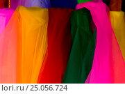 Цветные платки. Стоковое фото, фотограф Максим Попыкин / Фотобанк Лори