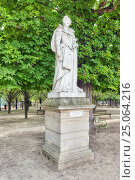 Купить «PARIS, FRANCE - JULY 08, 2016 : Statue of Marie De Medicis in Luxembourg park in Paris, one of the most beautiful gardens in Paris. France.», фото № 25064216, снято 8 июля 2016 г. (c) Vitas / Фотобанк Лори