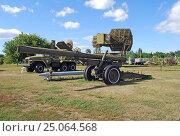 Купить «Одноствольная пусковая установка 300-мм РС 9М55», фото № 25064568, снято 23 августа 2015 г. (c) Глазков Владимир / Фотобанк Лори