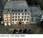 Архитектура Франкфурта. Вид с верху (2013 год). Стоковое фото, фотограф Юрий Леденцов / Фотобанк Лори