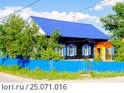 Купить «Деревенский дом», фото № 25071016, снято 2 мая 2014 г. (c) Хайрятдинов Ринат / Фотобанк Лори