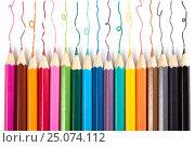 Цветные карандаши для рисования. Стоковое фото, фотограф Артем Силионов / Фотобанк Лори