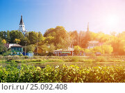 Купить «Alexandrovskaya Sloboda», фото № 25092408, снято 15 сентября 2014 г. (c) Юрий Губин / Фотобанк Лори