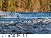 Водопад в Германии. Стоковое фото, фотограф Игорь Горелик / Фотобанк Лори