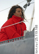 "Купить «Marie Tabarly, daughter of French sailing legend Eric Tabarly, sailing ""Pen Duick VI"" to Plymouth to watch the start of the Transat 2004, celebrating 40...», фото № 25119188, снято 17 августа 2018 г. (c) Nature Picture Library / Фотобанк Лори"
