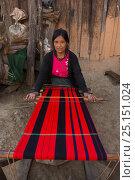 Купить «Chang Naga woman weaving, Tuensang district. Nagaland, North East India, October 2014.», фото № 25151024, снято 21 августа 2018 г. (c) Nature Picture Library / Фотобанк Лори