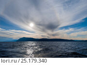 Купить «Olkhon island, Lake Baikal, Siberia, Russia, September 2013.», фото № 25179340, снято 20 января 2018 г. (c) Nature Picture Library / Фотобанк Лори