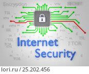 Data protection. Chip hardware encryption. Printed circuit board. vpn, фото № 25202456, снято 26 февраля 2017 г. (c) Александр Якимов / Фотобанк Лори