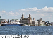 Купить «Cruise liner 'Ocean Countess', the first cruise ship to start and finish a cruise from the Liverpool waterfront for 40 years, seen here at the Liverpool...», фото № 25261560, снято 17 августа 2018 г. (c) Nature Picture Library / Фотобанк Лори