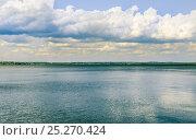 Купить «Таганрогский залив Азовского моря», фото № 25270424, снято 16 июля 2015 г. (c) Алёшина Оксана / Фотобанк Лори