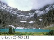 Купить «Iceberg Lake, Glacier NP, Montana, USA.», фото № 25463212, снято 18 октября 2018 г. (c) Nature Picture Library / Фотобанк Лори