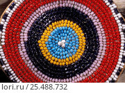 Купить «Koryak beadwork Kamchatka peninsula, Russia», фото № 25488732, снято 17 августа 2018 г. (c) Nature Picture Library / Фотобанк Лори