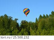 Путешествие на воздушном шаре. Стоковое фото, фотограф Наталья Тагирова / Фотобанк Лори