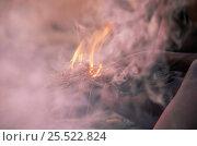 Купить «Hu / Joan bushman making fire in traditional manner, Namibia. 1996», фото № 25522824, снято 20 апреля 2018 г. (c) Nature Picture Library / Фотобанк Лори