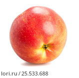 Flame color apple isolated. Стоковое фото, фотограф Дмитрий Климчук / Фотобанк Лори
