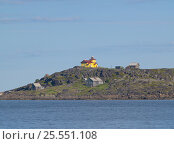 Финская церковь на острове в Белом море (2010 год). Стоковое фото, фотограф Алексей Ионов / Фотобанк Лори