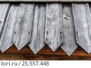 Купить «Фон стена из старых деревянных досок», фото № 25557448, снято 14 августа 2016 г. (c) Евгений Рашевский / Фотобанк Лори