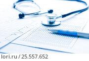 Купить «Bill from the doctor concepts of rising medical cost», фото № 25557652, снято 3 февраля 2016 г. (c) Валерия Потапова / Фотобанк Лори