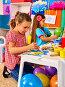 Small student child painting in art school class., фото № 25558556, снято 4 октября 2015 г. (c) Gennadiy Poznyakov / Фотобанк Лори