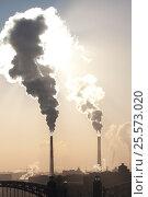 Трубы котельных. Стоковое фото, фотограф Анна Сапрыкина / Фотобанк Лори