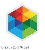 "Логотип технопарка ""Строгино"" (2017 год). Редакционное фото, фотограф Tatyana Krasikova / Фотобанк Лори"