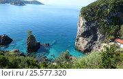 Купить «Греция, остров Корфу (Керкира), Палеокастрица», фото № 25577320, снято 22 мая 2014 г. (c) Ольга Смоленкова / Фотобанк Лори