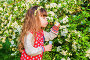 Girl with soap bubbles, фото № 25578192, снято 23 мая 2016 г. (c) Сергей Завьялов / Фотобанк Лори