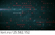 Купить «Digitally generated warning sign for online fraud», видеоролик № 25582152, снято 8 декабря 2019 г. (c) Wavebreak Media / Фотобанк Лори