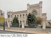 Купить «Дом приемов МИД на Спиридоновке,17 (Особняк Зинаиды Морозовой). Архитектор Шехтель. Москва», эксклюзивное фото № 25583120, снято 4 ноября 2015 г. (c) stargal / Фотобанк Лори