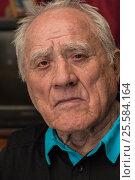 Portrait of elderly man closeup. Стоковое фото, фотограф Станислав Занегин / Фотобанк Лори