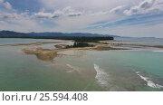 Купить «Aerial video of cape and sea in Khao Lak, Thailand», видеоролик № 25594408, снято 29 января 2017 г. (c) Михаил Коханчиков / Фотобанк Лори