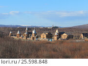 Купить «Трифонов-печенгский мужской монастырь ранней весной», фото № 25598848, снято 3 мая 2013 г. (c) Юлия Юриева / Фотобанк Лори