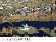 Церковь в г. Олонец в Карелии (2013 год). Редакционное фото, фотограф Потехин Сергей / Фотобанк Лори