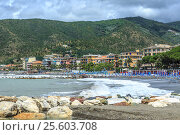 Italian resort Sestri Levante (2016 год). Стоковое фото, фотограф Ярочкин Сергей / Фотобанк Лори