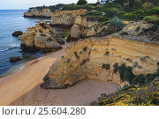 Praia dos Beijinhos (Lagoa, Portugal). (2016 год). Стоковое фото, фотограф Юрий Брыкайло / Фотобанк Лори