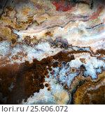 Купить «Macro texture of nature - onyx», фото № 25606072, снято 22 июля 2019 г. (c) ElenArt / Фотобанк Лори