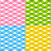 Набор бесшовных фонов с рельефным узором, иллюстрация № 25606112 (c) Евгения Малахова / Фотобанк Лори