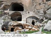 Cave city Vardzia. Georgia (2013 год). Стоковое фото, фотограф Евгений Суворов / Фотобанк Лори