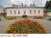 Домик Петра I в Полоцке. Редакционное фото, фотограф Андрей Марцинкевич / Фотобанк Лори