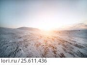 Купить «Winter. Snow-covered hillsides», фото № 25611436, снято 16 февраля 2014 г. (c) Андрей Радченко / Фотобанк Лори