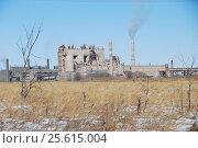 Цементный завод. г. Спасск Дальний, эксклюзивное фото № 25615004, снято 25 февраля 2017 г. (c) syngach / Фотобанк Лори