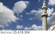 Купить «Mosque in Old Town, Rhodes, Greece (time lapse)», видеоролик № 25618304, снято 26 февраля 2017 г. (c) Владимир Журавлев / Фотобанк Лори