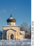 Купить «George's Church in the winter in Yuryev-Polsky», фото № 25641416, снято 7 января 2017 г. (c) Анна Костенко / Фотобанк Лори
