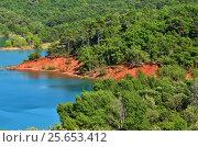 St. Croix Lake, France (2014 год). Стоковое фото, фотограф Знаменский Олег / Фотобанк Лори