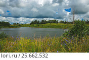 Купить «Летний пейзаж», фото № 25662532, снято 8 июля 2016 г. (c) Валерий Боярский / Фотобанк Лори
