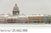 Купить «Зимний Санкт-Петербург», эксклюзивное фото № 25662988, снято 12 января 2010 г. (c) Александр Алексеев / Фотобанк Лори