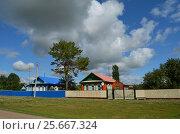 Деревня в Башкирии. Стоковое фото, фотограф Наталья Тагирова / Фотобанк Лори