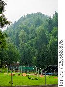 Купить «Georgia resort - Sairme», фото № 25668876, снято 10 июля 2016 г. (c) Давидич Максим / Фотобанк Лори