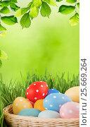 Fresh healthy green bio background with abstract blurred foliage. Стоковое фото, фотограф Валерия Лузина / Фотобанк Лори
